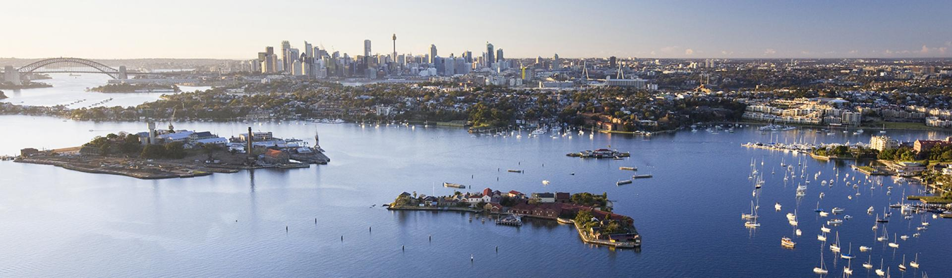 Sydney Harbour Islands