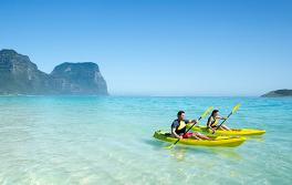 Kayaking, Lord Howe Island